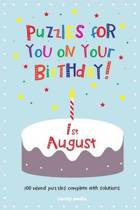Puzzles for You on Your Birthday - 1st August