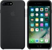 Apple Siliconen Back Cover voor iPhone 7/8 Plus - Zwart