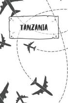 Tanzania: Ruled Travel Diary Notebook or Journey Journal - Lined Trip Pocketbook for Men and Women with Lines