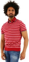 Chris Cayne regular fit poloshirt korte mouw rood, maat XXL