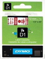 DYMO S0720520 Rood op transparant labelprinter-tape