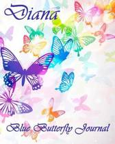 Blue Butterfly Journal - Diana