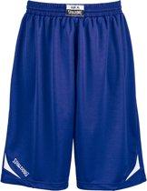 Spalding Attack Basketbalbroek - Maat XXL  - Mannen - blauw/wit
