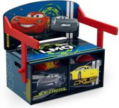 Delta Kids Cars Bank 3-in-1 Hout Ro/bl 66,5 X 43,2 X 57 Cm
