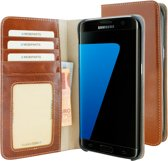 Mobiparts Excellent Wallet Case Samsung Galaxy S7 Edge Oaked Cognac