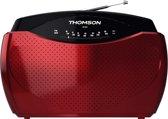Thomson RT223 Draagbare Radio - Rood/Zwart