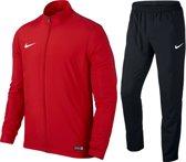 Nike Academy 16 Knit Trainingspak Heren - Maat M - Rood/Zwart