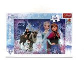 Winter avontuur /  Frozen, 160 stukjes Puzzel