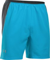 Under Armour UA Coolswitch Run 7'' Short - Sportbroek - Heren - Maat S - Blauw