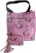 Jessidress  Meiden Handtasje, Meiden Hand Tas met portemonnee - Roze