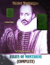 Essays of Montaigne (Volume-II)