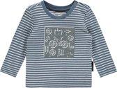 Noppies Jongens T-shirt Trumann  - Indigo blue - Maat 80