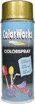 Colorworks Colorspray - Hoogglans - 400 ml - Goud