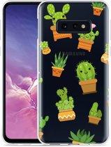 Galaxy S10e Hoesje Happy Cactus