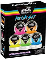 Crazy Aaron's putty neon set 5 stuks
