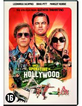 DVD cover van Once Upon A Time In Hollywood