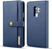 Samsung Galaxy S9 Plus 2-in-1 Bookcase en Back Cover Hoesje Blauw