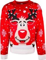 JAP Foute kersttrui - Rudolf het rendier