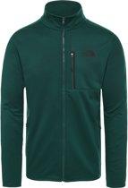 The North Face Canyonlands Full Zip Vest Heren - Night Green - Maat S