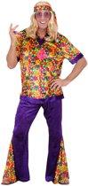 Hippie pak voor heren - Verkleedkleding - Large