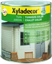 Xyladecor Tuinhuis Color - Houtbeits - Jasmijn - Mat - 2,5L