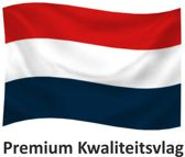 Nederlandse Vlag Nederland M-Blauw 150x225cm Premium