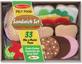 Melissa & Doug - Vilten Sandwichset