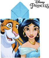Poncho-Handdoek met Capuchon Jasmin Princesses Disney 74201