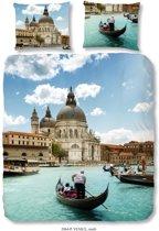 Good Morning 2064-P Venice - dekbedovertrek - lits jumeaux - 240x200/220 cm  - 100% katoen - multi