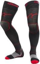 Alpinestars MX Long Socks Black/Red-L/XL