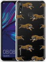 Huawei Y7 2019 Hoesje Leopard