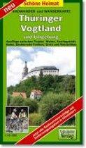 Thüringer Vogtland und Umgebung 1 : 35 000 / 1 : 50 000. Wander- und Radwanderkarte