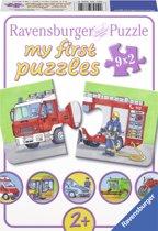 Ravensburger Speciale voertuigen- My First puzzles -9x2 stukjes - kinderpuzzel