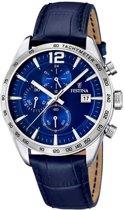Festina F16760/3 Chronograaf - Horloge - Staal - Zilverkleurig - Ø 43.5 mm