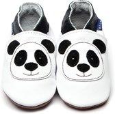 Inch Blue babyslofjes panda white