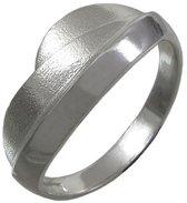 De heuvels. Zilveren ring 21mm