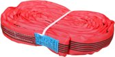 Logistiekconcurrent.nl Rondstrop 5 Ton met certificaat - Rood 4M