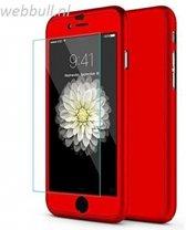 iPhone 7+ 360 Graden Hoesje (Rood)