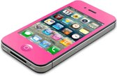 """AVANCA Toughglass Iphone 4 Roze - Glazen Geharde beschermer- Screenprotector- tempered glas-  transparant -2.5D- 9H- (0.4mm) - ( Zeer sterk Materiaal) - Iphone 4 """