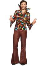 Hippie love kostuum voor mannen - Volwassenen kostuums