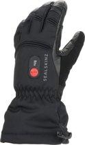 Sealskinz Waterproof Heated Gauntlet Fietshandschoenen - Maat L - Zwart