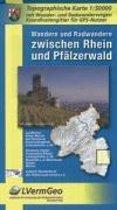 Wandern und Radwandern zwischen Rhein und Pfälzerwald 1 : 50 000