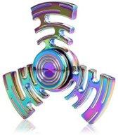 Fidget spinner metaal aluminium radar multi colour
