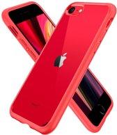 Spigen iPhone 8/7 Case Ultra Hybr 2 Red