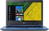 """ACER ASPIRE 3 15.6""""Full HD - I3-7020U - 4GB Ram - 256Gb SSD + 1Tb HDD - Windows 10 - Blauw - Azerty"""