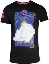 Pok�mon Heren Tshirt -2XL- City Bulbasaur Zwart