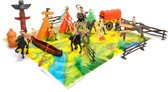 Wild West speelset ± 20-delig