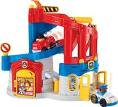 Fisher-Price Little People Race & Chase Reddingscentrum - Speelfigurenset
