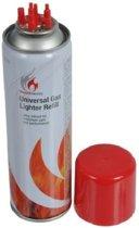 Aansteker gas / butaan gasfles - 250 ml - aanstekervulling