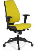hjh office Pro-Tec 500 - Bureaustoel - Stof - Groen / grijs